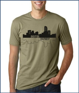 Hotel Hurry T Shirt Design
